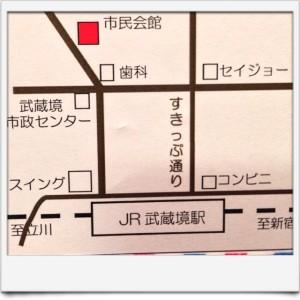 市民会館地図